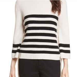 NWT Joie Stripe turtleneck